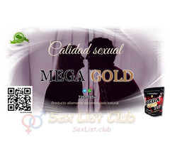 MEGA gold 36 es un energizante sexual 100 natural